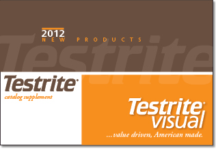 Testrite 2012 New Product Catalog Supplement