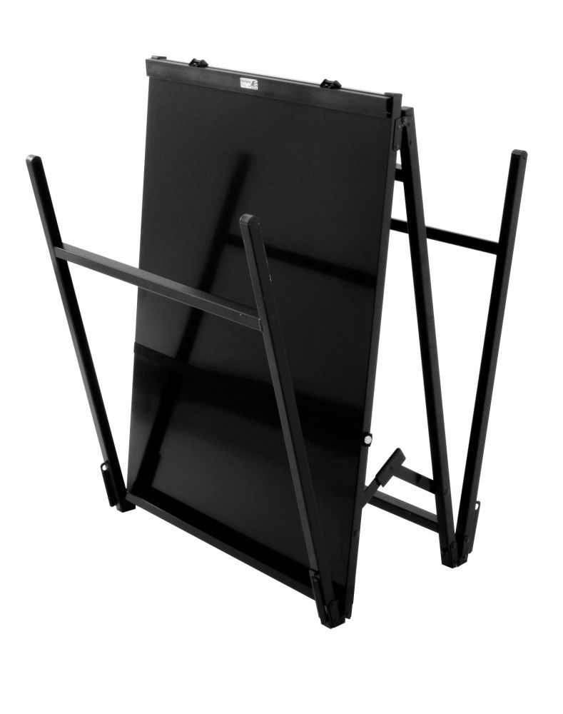 model 1520b blk steel magnetic a frame easel