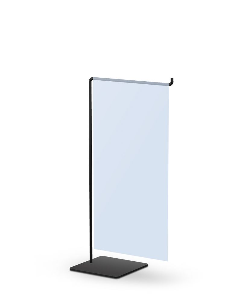 Testrite Visual | Mini Wire CounterTop Banner Stands
