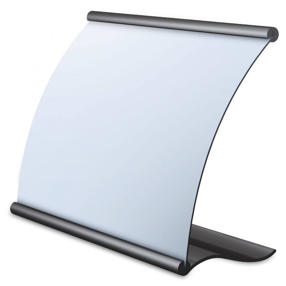 Testrite Visual Eclipse Tabletop SignHolders - Table top sign holders