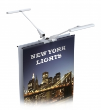 Banner Stand Lighting